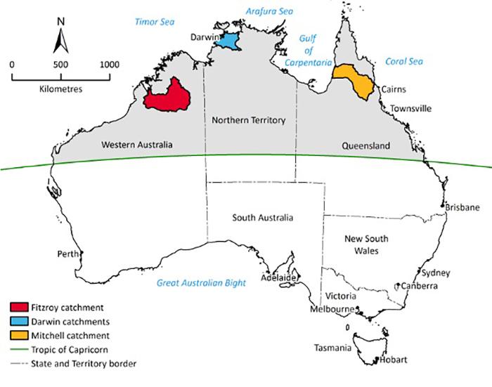 CSIROdamsmap