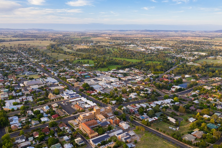 Cowra - Rural town in the central West on New South Wales - Australia